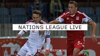 Luxembourg vs Belarus - Uefa Nations League 2018