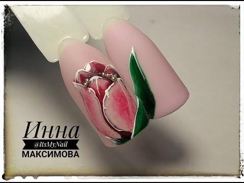 пошаговый мастер класс по дизайну ногтей фото