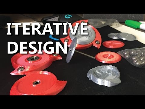 Combat Fidget Spinner - Detailed Design Overview in Fusion 360