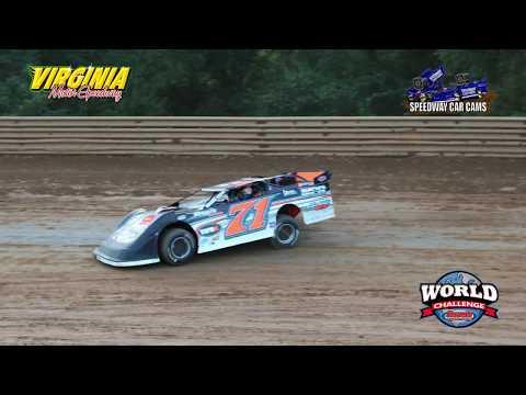 #71 Davis Lipscombe - Crate Late Model - 9-15-17 Virginia Motor Speedway - In Car Camera