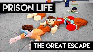 Prison Life - THE GREAT ESCAPE (Roblox Prison Life)