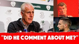 The Roy Keane comments and Hourihane at left-back | Mick McCarthy and Seamus Coleman