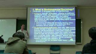 Environmental Sociology 5 (1/6): Ecological Modernization, Continued: Ulrich Beck