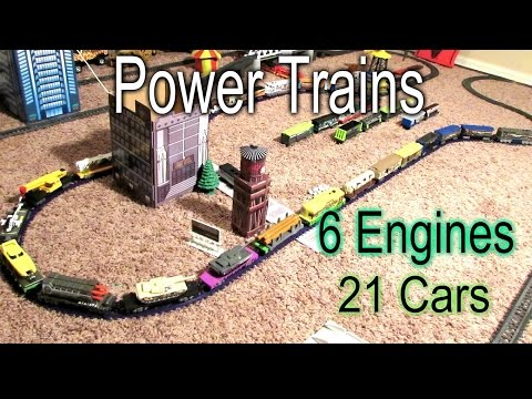 Longest Power Train - 6 Engines and 21 Cars