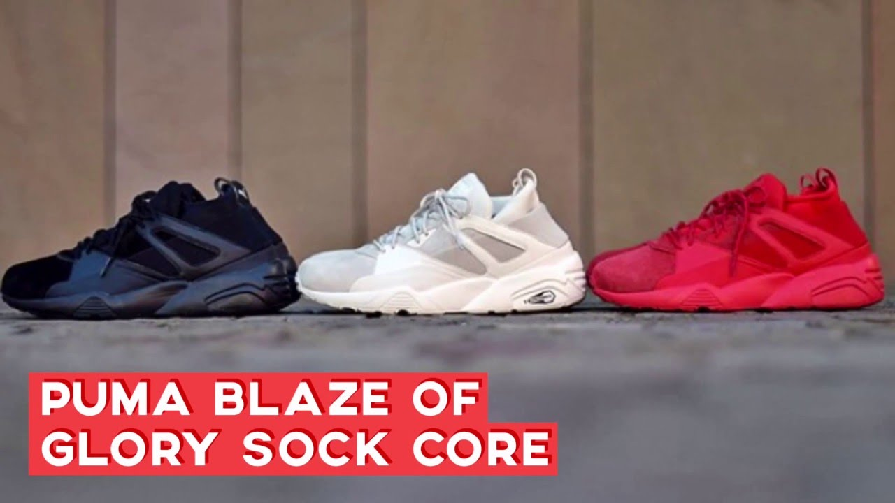 PUMA BLAZE OF GLORY SOCK CORE SNEAKERS STAR