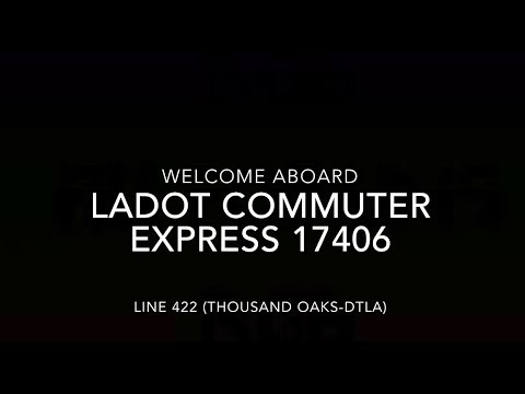 LADOT Commuter Express 2017 MCI D4500CT CNG #17406 | Coin Lloyd's Transit Hub