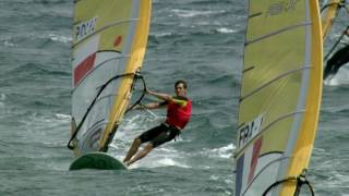 Fast and physical - Olympic windsurfing, the Men's RS:X