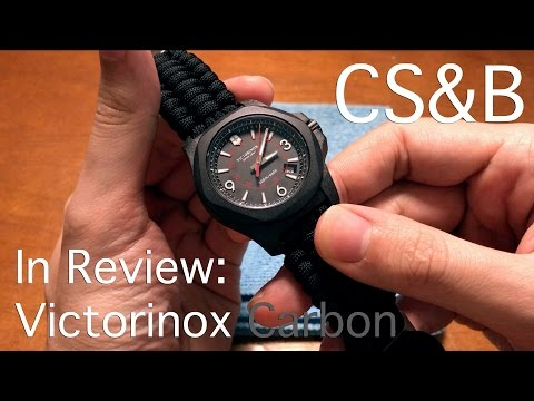 In Review: Victorinox I.N.O.X. Carbon Box Set - Best Field Watch Ever? - Clock Stock & Barrel