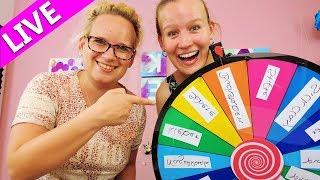 Glücksrad *LIVE* DIY Bastel Challenge mit Kathi & Eva💗Wer gewinnt das Bastel Duell? | Entweder Oder