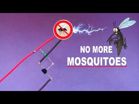 Diy Mosquito Repellent..How To Make Mosquito And Insect Repeller..Mosquito Repellent Circuit.. - 동영상