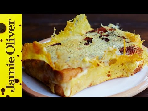 Grilled Cheese Toastie with a crown | Jamie Oliver