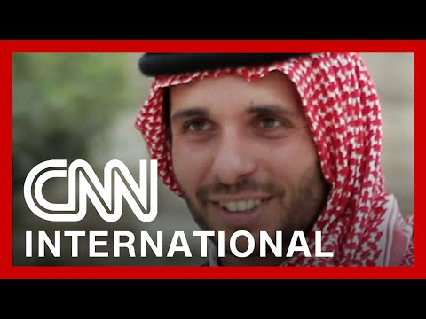 Jordan's former crown prince says he's been placed in isolation