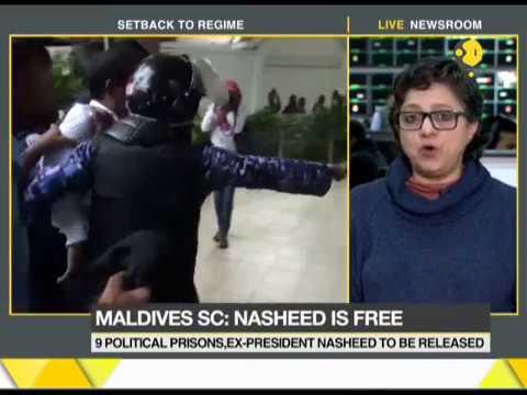 Maldives President in trouble