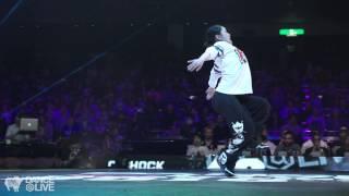 MAIKA vs OSAAM Hiphop Final DANCE@LIVE Japan 2015   YAK BATTLES