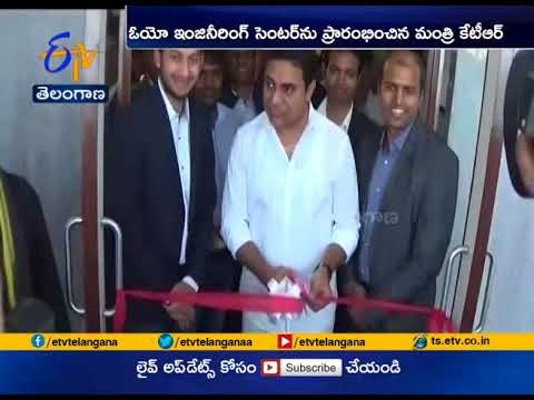 Oyo Hotels Engineering Centre | Inaugurated by Minister KTR | at Hyderabad