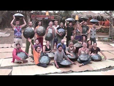 """ India first handpan festival "" promo video - Sherif El Moghazy - Music From Steel شريف المغازي"