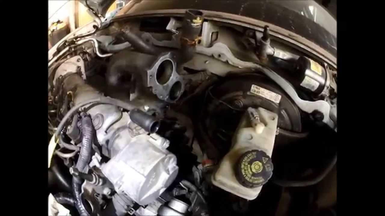 Montaż turbosprężarki Megane II 19 dci  YouTube