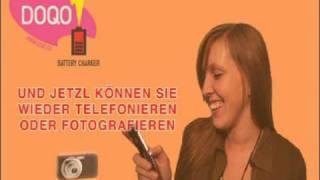 Wie funktioniert das  DOQO  Akku  Aufladegerät  für Mobiltelefon und digital Kameras
