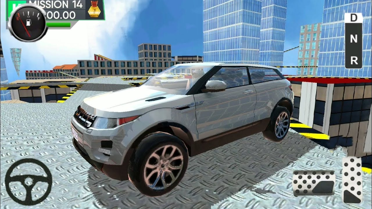 Roof Jumping Car Parking - Android Gameplay HD