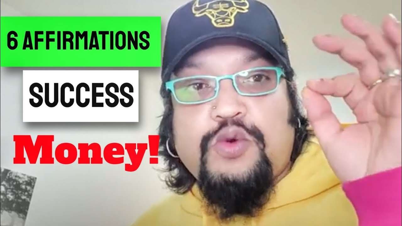 🆕 6 Top Affirmations For Abundance And Success - Watch for 21 Days Daily    TaTvA K  