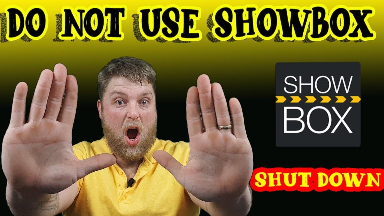 is showbox still down