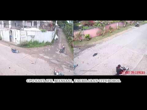 Accident at Mansasa Tagbilaran City Bohol