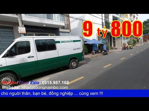 Video nhà bán Quận 6 - Mặt tiền khu dân cư Bình Phú 3 phường 10 Quận 6