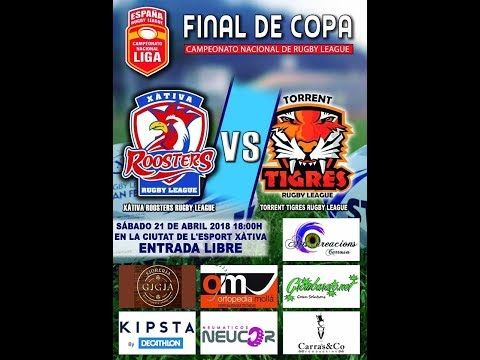 Final Copa Rugby League - Xativa Roosters - Torrent Tigres