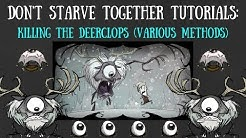 Don't Starve Together Guide: Killing The Deerclops