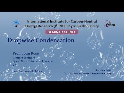 2018/3/9 I²CNER Seminar Series : Prof. John Rose