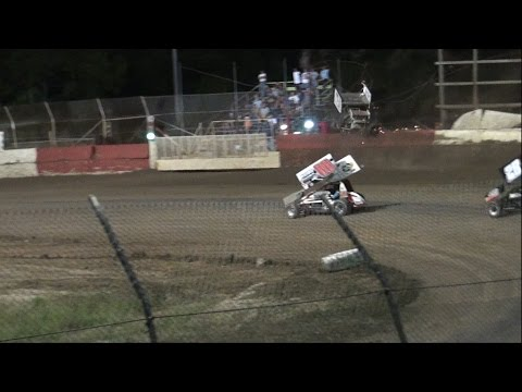 MRR Racing at East Bay Raceway Park. Billy Grace Crash. 10/24/15