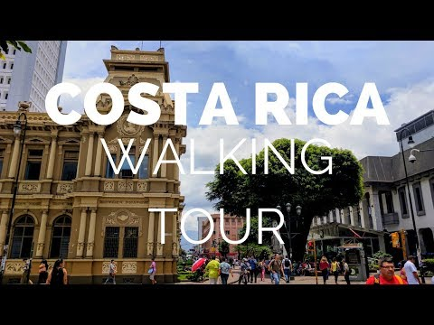 Costa Rica Travel Vlog: San Jose Free Walking Tour