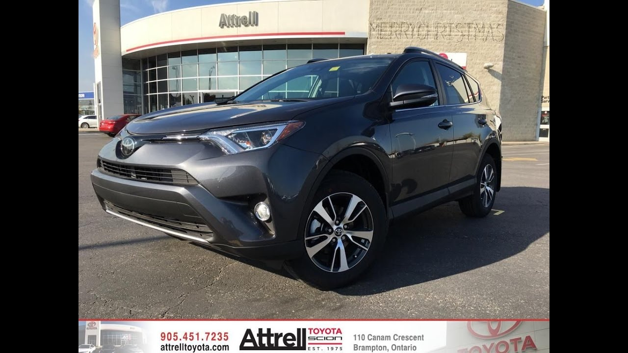 2017 Toyota Rav4 Xle Awd Standard Package Brampton On Attrell You