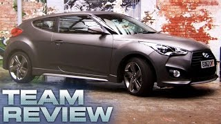 Hyundai Veloster Turbo Team Review Fifth Gear смотреть