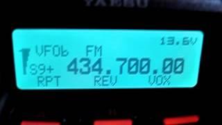 Unbekanntes Funksignal auf 434,700 MHz