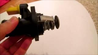 Проблема электрондық термостат в Peugeot 307 SW