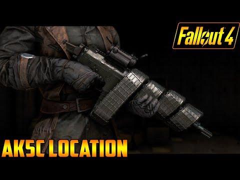Fallout 4 AK5C Location (Xbox One Mod)