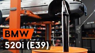 Oglejte si video vodič, kako zamenjati Blažilnik na BMW 5 (E39)