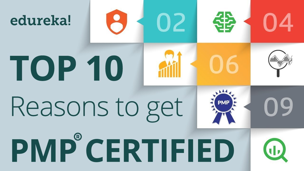 Top 10 Reasons To Get Pmp Certified Pmp Certification Training
