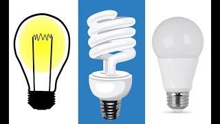 видео Светодиодные лампы для дома