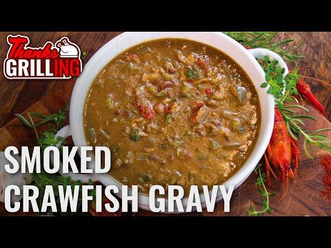 Cajun Crawfish Gravy | Kingsford Signature Pellets | ThanksGrilling Recteq Series