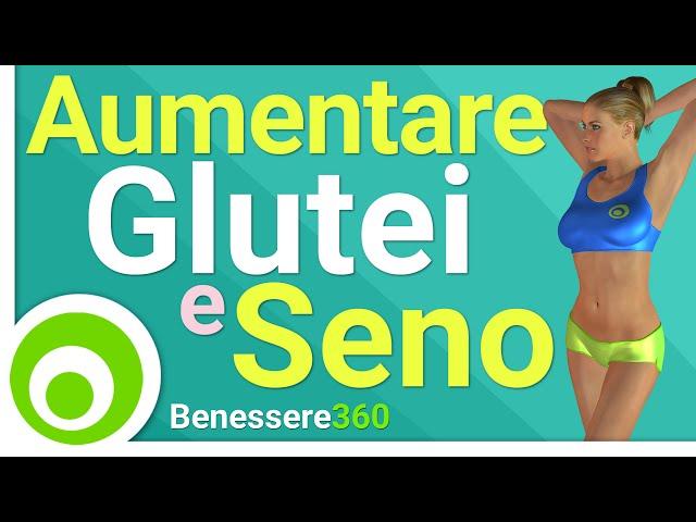 dieta ed esercizi per aumentare i glutei