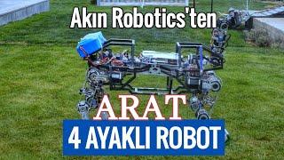 ARAT Akın Robotics'ten 4 ayaklı robot