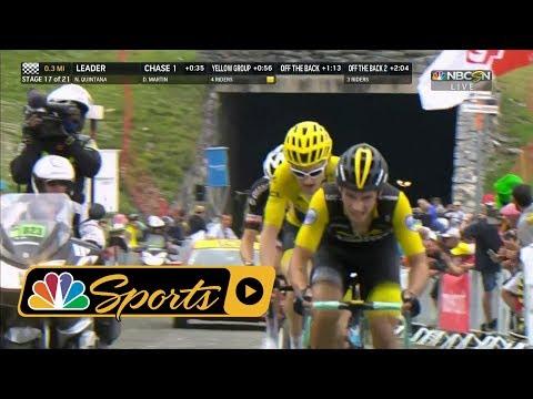 Tour de France 2018: Stage 17 finish I NBC Sports