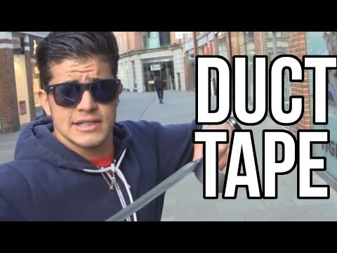 DUCT TAPE PRANK | IN CANTERBURY