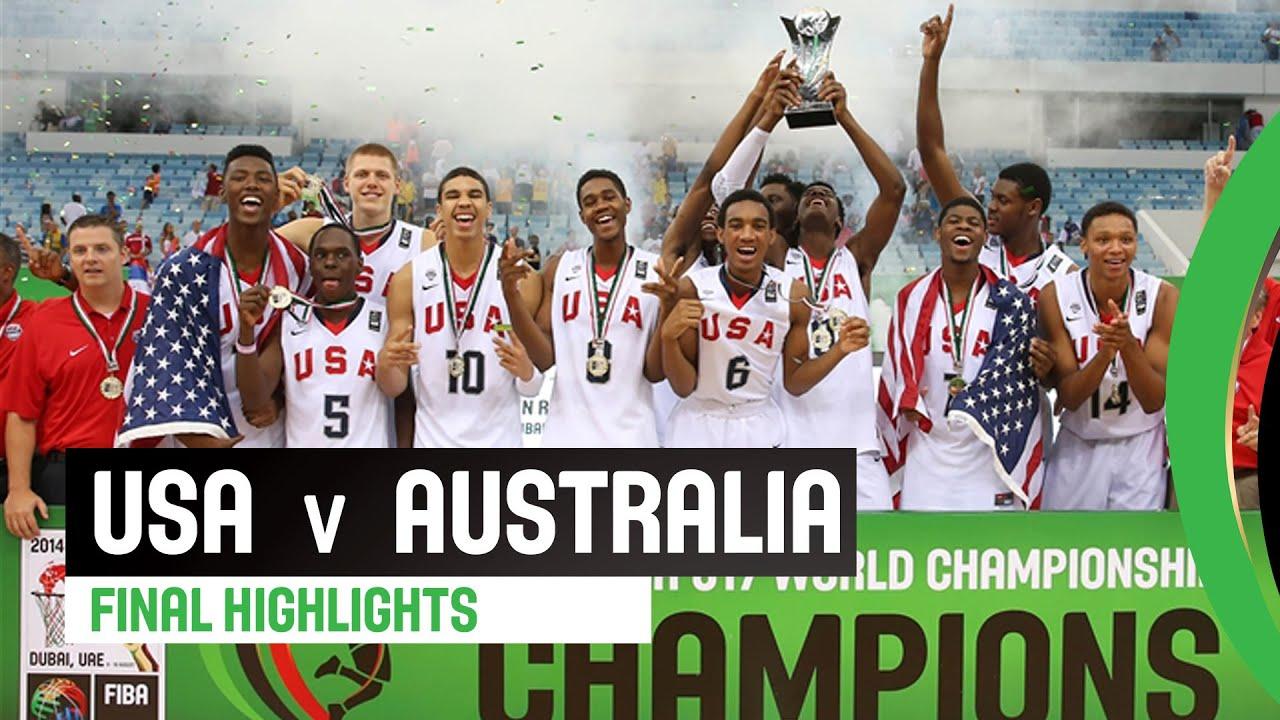 USA v Australia -  Final Highlights