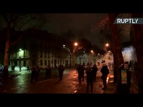 Neuvième samedi de mobilisation pour les Gilets jaunes à Paris