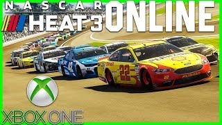 NASCAR Heat 3 Online! *XBOX* |Stream Replay 9/18/18| Part 2