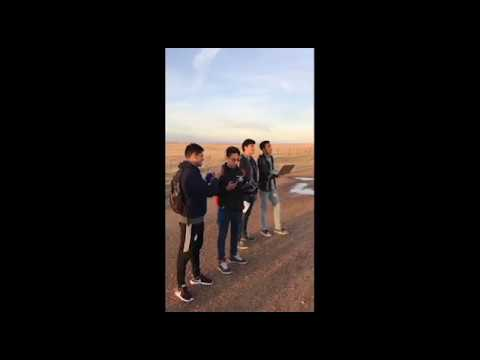 Engineering Service Learning (ESL) team UAV (unmanned Aerial Systems) real flight video.