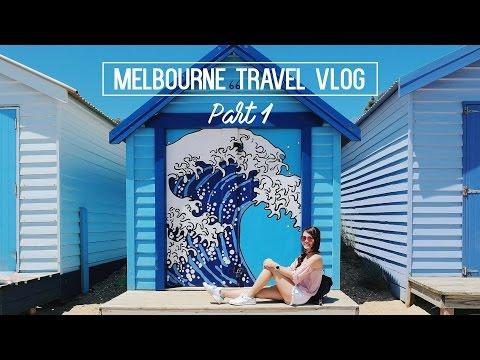 Melbourne Travel Vlog Part 1| Brighton Beach + Great Ocean Road | sueannxoxo
